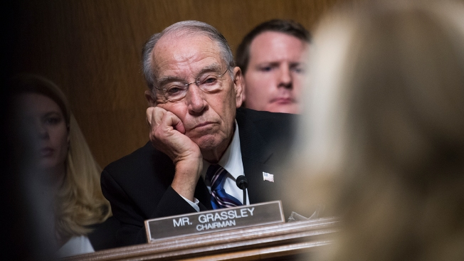 Sen. Chuck Grassley Opts to Cede Judiciary Committee Chairmanship