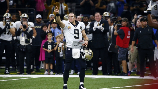 Going the Distance: Brees Breaks NFL Record for Yards Passing