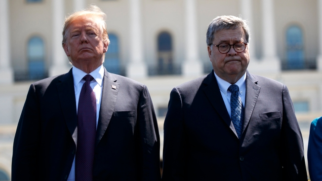 Trump Grants AG Barr Power Over Classified Russia Probe Info
