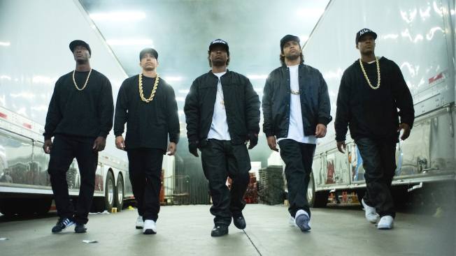 Wrong White Sox Hat Sported in 'Straight Outta Compton' Film
