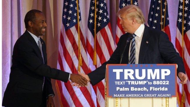 Ben Carson Buries 'the Hatchet,' Endorses Donald Trump for President