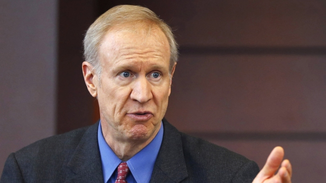 Rauner Touts Agenda During First-Ever Facebook Live Forum
