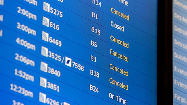 Thousands Of Flights Cancelled In Northeast US