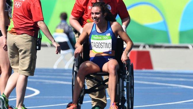 Knee Injury Keeps American Runner Who Helped Opponent From Racing in 5K Final