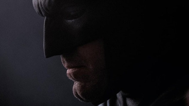 "Ben Affleck is a Brooding Caped Crusader in New Photo From ""Batman v Superman: Dawn of Justice"""