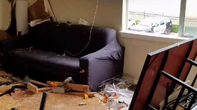 Video Shows Floor Collapse During Party At Texas Apt