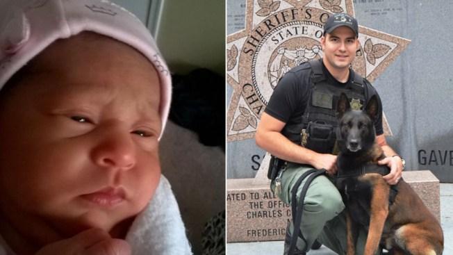 Officer Saves Newborn Choking on Formula