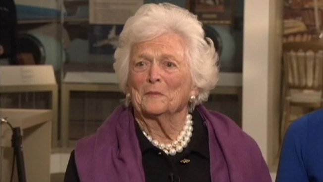 Barbara Bush Discharged From Houston Hospital
