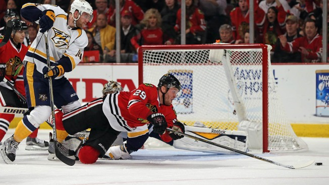 "Kruger, Bickell Both ""Fine"" and Will Play in Game 1"