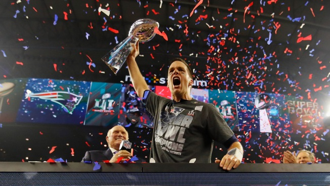Celebrities, Sport Stars React to the New England Patriots Winning Super Bowl 51