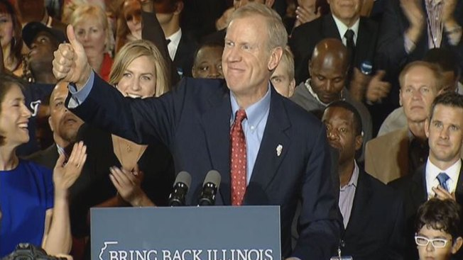 Rauner Says Transformation is Coming on Eve of Inauguration Events