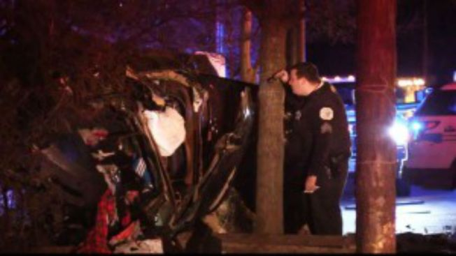 Woman Killed, Man Critically Injured in Englewood Crash
