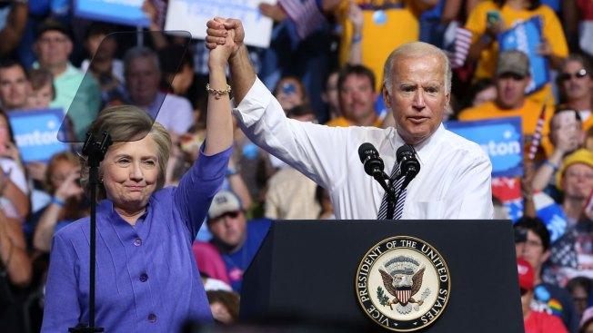Clinton, Biden Attack Trump During Scranton, Pennsylvania, Rally