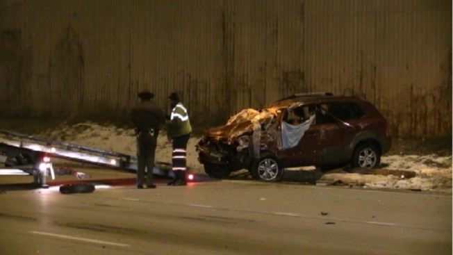 5 Injured in Multi-Vehicle Crash on Dan Ryan
