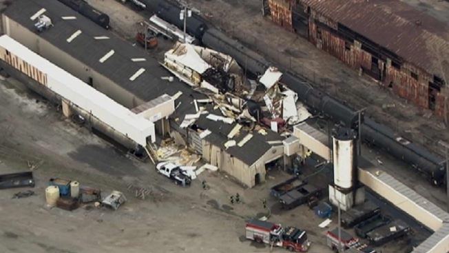 Man Severely Burned, Warehouse Destroyed in East Chicago Propane Explosion: Report