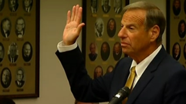 Bob Filner Booked, Released from San Diego Jail