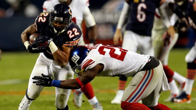 Bears Knock Off Giants 27-21