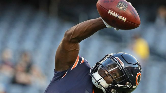 Anthony Miller, Prince Amukamara Ruled Out for Bears vs. Buccaneers