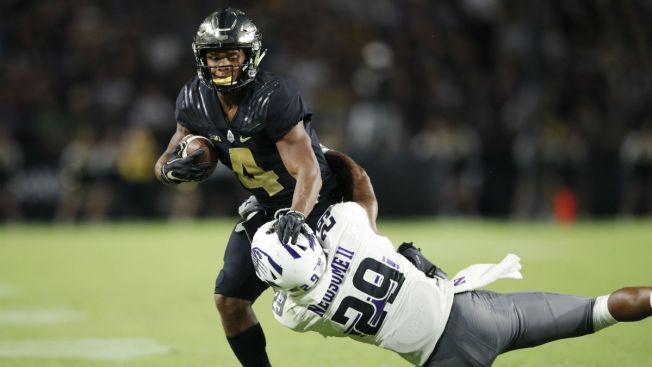 Purdue Star Rondale Moore Crashes Athletic Website With Record Performance