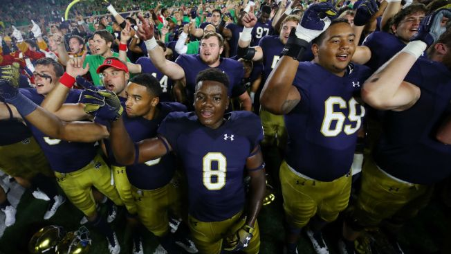 Notre Dame Beats Michigan in Latest Installment of Famous Rivalry