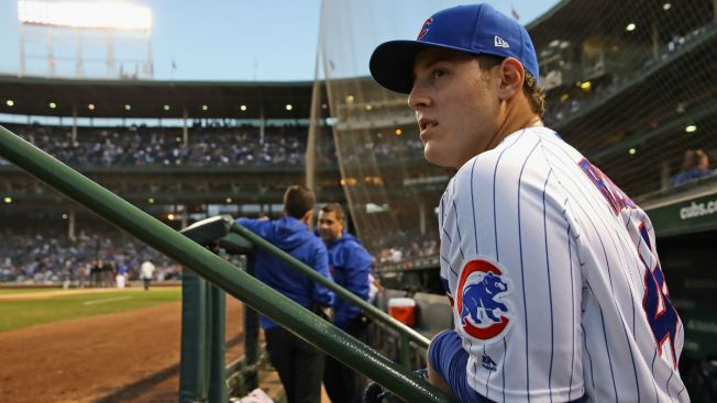 Anthony Rizzo Wins N.L. Gold Glove Award at First Base