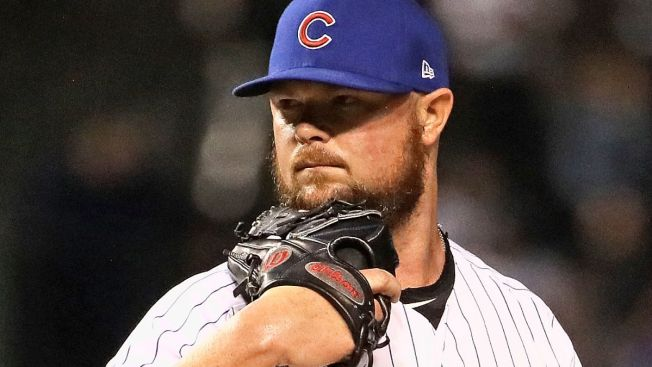 Jon Lester Set to Pitch for Cubs As They Battle Brewers in Arizona