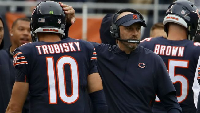 Mitchell Trubisky Listed as Doubtful for Bears Game vs. Lions