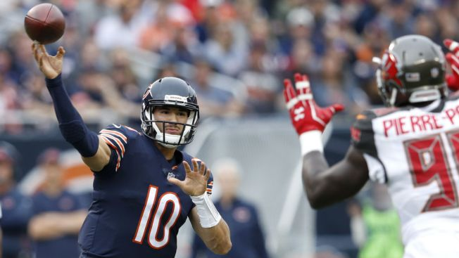 Mitchell Trubisky's Monster Day Leads Bears to Big Win Over Buccaneers