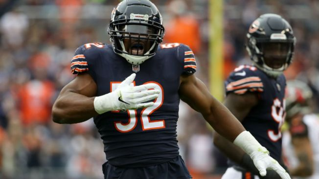 Khalil Mack Honored as NFC Defensive Player of the Month
