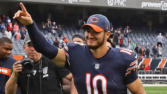 Bears' Mitchell Trubisky Aims for Repeat After Breakout Game