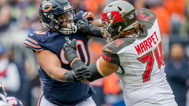 the best attitude eed54 1f2fb Chicago Bears Roster Cut Tracker: The Path to 53 Players ...