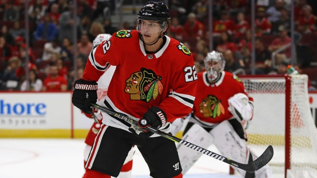 Blackhawks Assign Brandon Davidson to Rockford