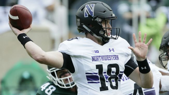 Clayton Thorson Leads Northwestern to Upset over Michigan State