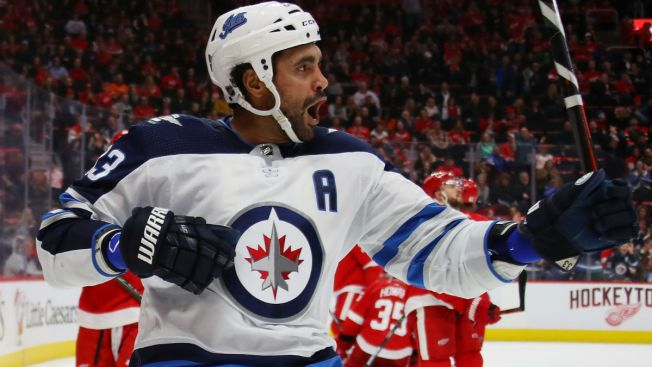 5b2a431dc Dustin Byfuglien Ruled Out for Game vs. Blackhawks - NBC Chicago