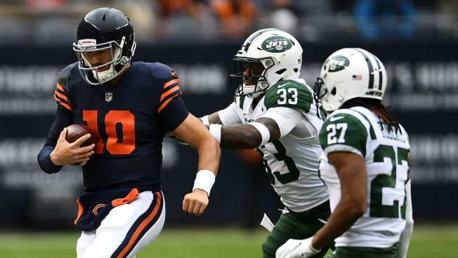 Trubisky Tosses 2 Touchdown Passes as Bears Beat Jets