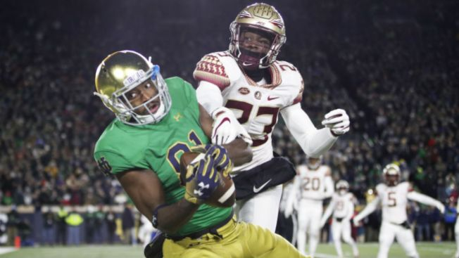 No. 3 Notre Dame Remains Unbeaten, Takes Down Florida State