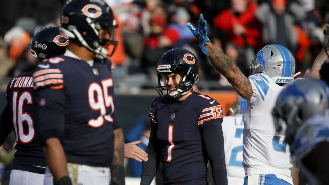 Matt Nagy: No Competition for Cody Parkey After 4 Missed Kicks vs. Lions