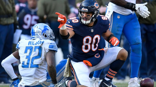 Trey Burton Questionable for Bears Heading Into Packers Game