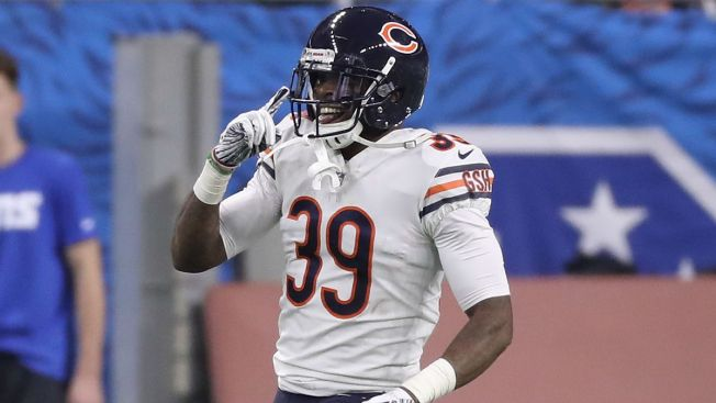 Eddie Jackson Named NFC Defensive Player of the Week