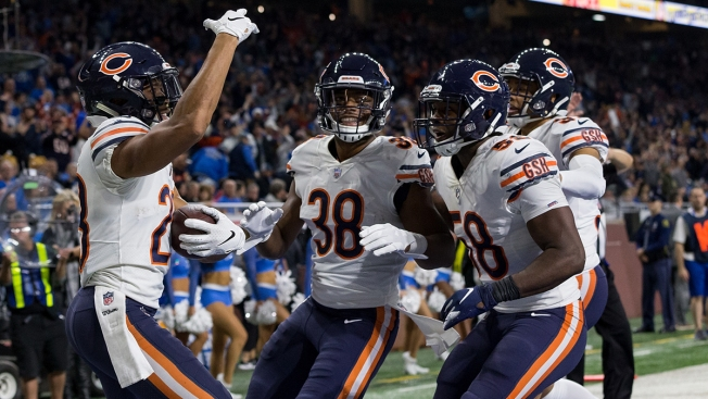 Eddie Jackson Moves Into Top Spot in Pro Bowl Voting
