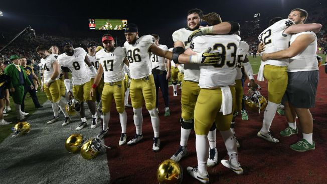 Notre Dame Selected for College Football Playoff