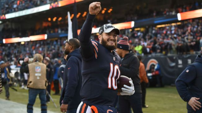 Mitchell Trubisky, Bears Quarterbacks Growing Out Beards for Stretch Run