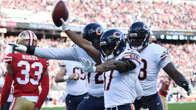 Chicago Bears Keep Hopes of Bye Alive With Win Over 49ers
