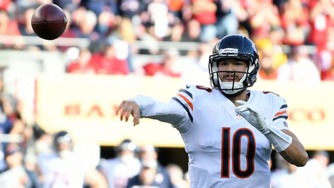Mitchell Trubisky Makes History in Bears Win Over 49ers