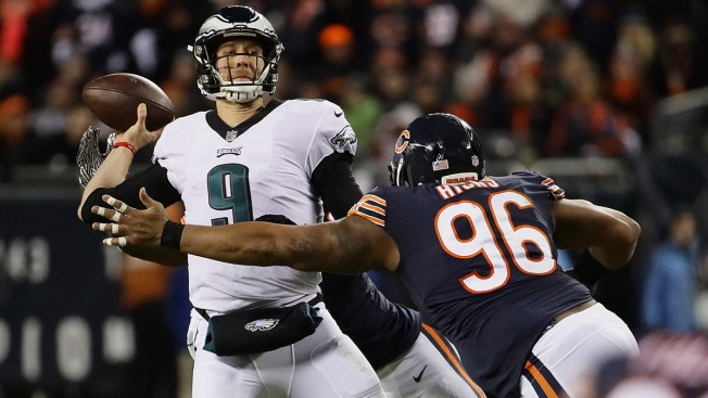 Nick Foles Cashes in Thanks to Eagles' Win Over Bears