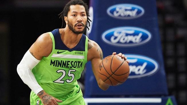bas prix 0f4cb 7bcac Former Bulls Star Derrick Rose Signs With Pistons, Report ...