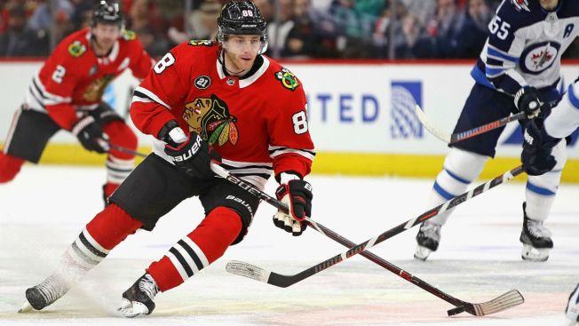 Blackhawks Keep Playoff Hopes Alive, but Lose to Jets