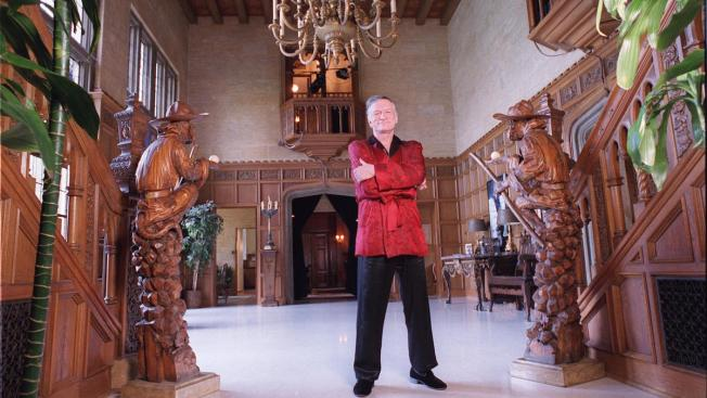 Playboy Mansion for Sale But Hugh Hefner Wants to Stay Put