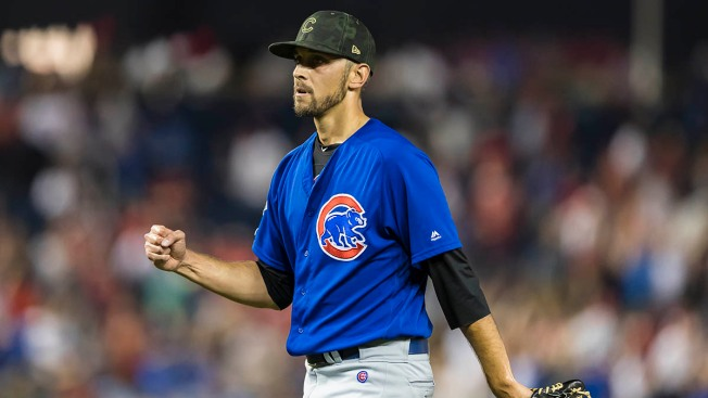 Chicago Cubs Reliever Steve Cishek Reportedly 'Day-to-Day' After Being Hit With Throw in Warm-Ups