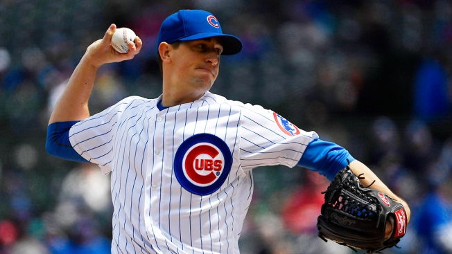 Chicago Cubs Place Kyle Hendricks on 10-Day Injured List